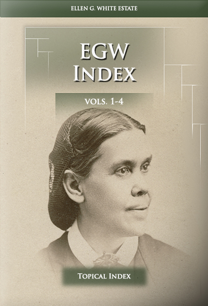 EGW Index, vols. 1-4 (Topical Index)