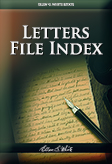 Letters File Index