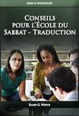 Conseils pour l'École du Sabbat - Traduction