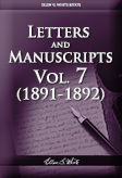 Letters and Manuscripts — Volume 7 (1891-1892)