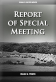 Report of Special Meeting