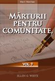 Mărturii pentru comunitate, vol. 9