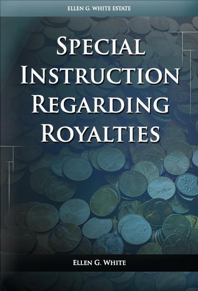 Special Instruction Regarding Royalties