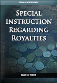 Special Instruction Regarding Royalties