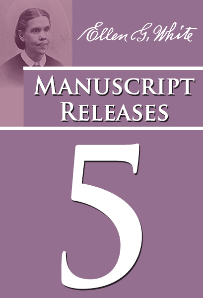 Manuscript Releases, vol. 5 [Nos. 260-346]