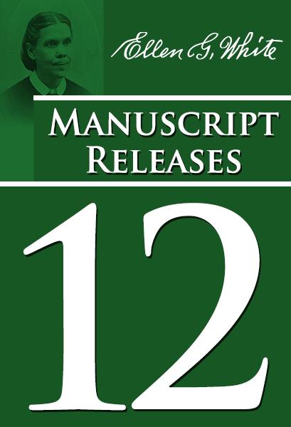 Manuscript Releases, vol. 12 [Nos. 921-999]