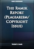 The Ramik Report (Plagiarism/Copyright Issue)