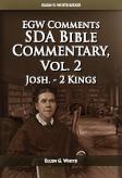 SDA Bible Commentary, vol. 2 (EGW)